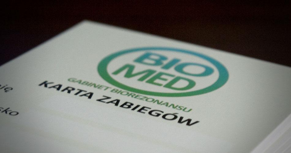 Karta zabiegów Biomed