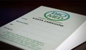 (Polski) Biznes karta – Biomed